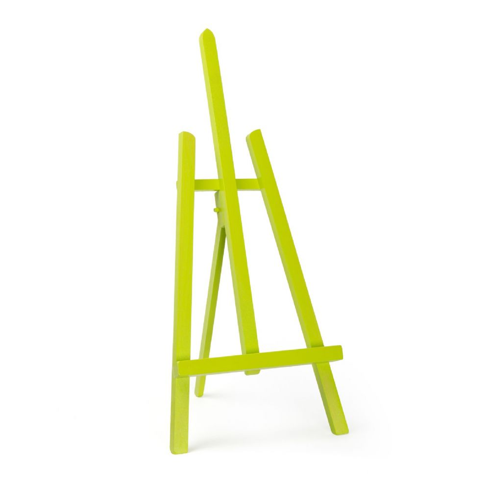 "Lime Colour Easel Essex 24"" - Beech Wood"